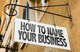 Tips for Naming Your New Business